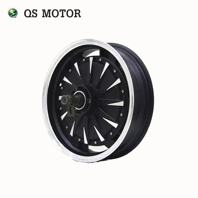 QS MOTOR 14inch 2000W 260 35H V1 48V Brushless DC Electric Scooter Motorcycle Wheel Hub Motor