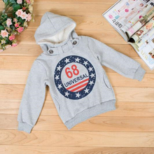 Baby Boys Pullover Jacket Cashmere Coat Infant Clothes Thick Cotton Tops Hoodies Jackets Outwear Prince Casual Sweater Clothing(China)
