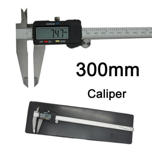 12 inch 300MM Digital Electronic Vernier Caliper Digital Vernier Caliper 0-300MM Micrometer Measuring Ruler(China (Mainland))