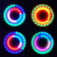Buy LED Light Hand Spinner Plastic Tri-Spinner EDC Fidget Spinner Autism ADHD Relief Focus Antistress Toys Children's Gifts for $5.59 in AliExpress store