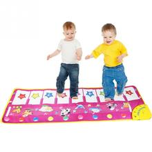 Hot Selling Baby Kids Touch Play Learn Singing Piano Keyboard Music Carpet Mat Christmas Gift Toy(China)