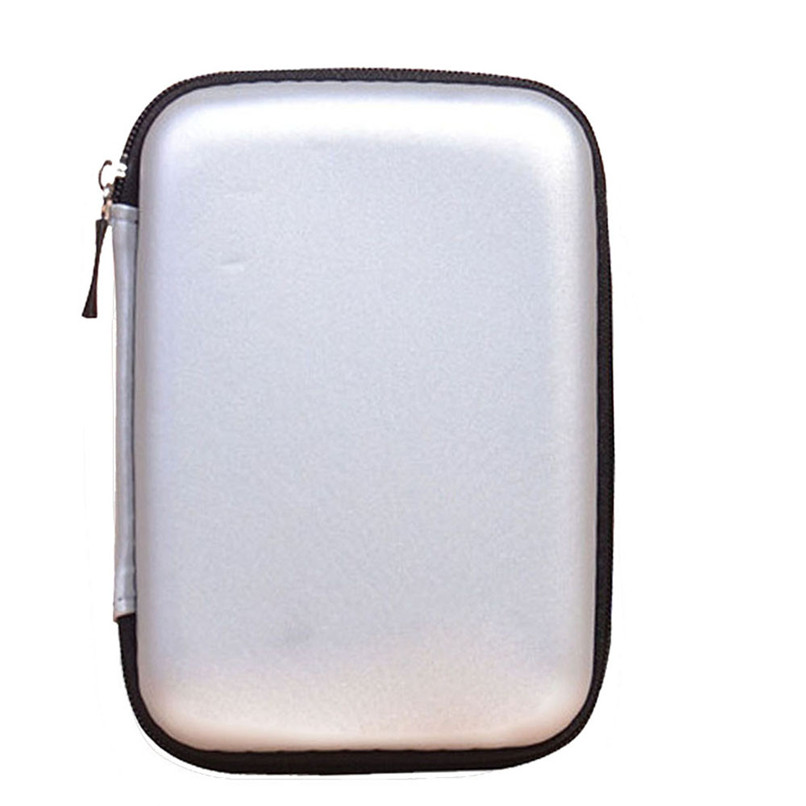 """EVA Carry Case Cover Pouch for 2.5"""" USB External HDD Hard Disk Drive   H10T2"""