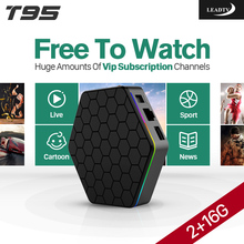 T95Zplus Android TV Box 2G+16G HD IPTV Set Top Box Quad Core S912 Arabic IPTV Europe French Itlian IPTV Subscription 1 Year