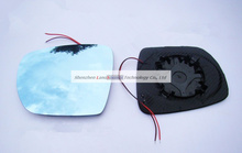 Anti-dazzling Rear View Mirror with Blue Glasses LED Turn Indicator Heating for Hyundai IX35(China)