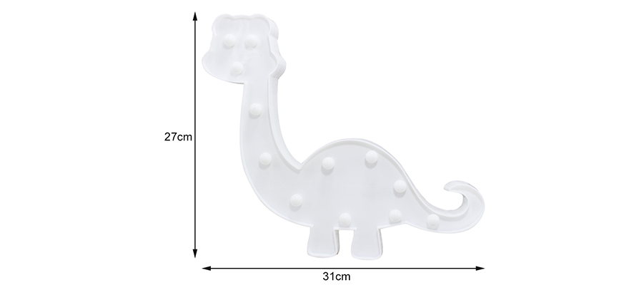 Cute Dinosaur LED Bedside Decoration Lamp