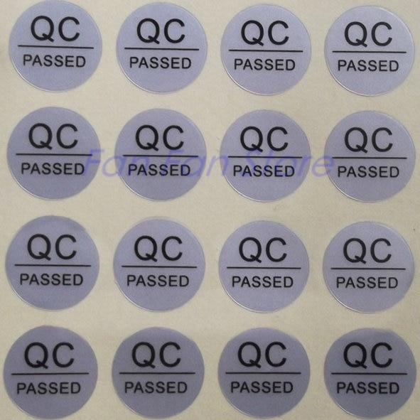 1000PCS Scratch Off Sticker Label Sticker Silver Color Blank 10 x 20mm