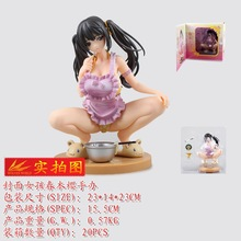 Alphamax Skytube Sex Adult Toys Cover Girl Shirt Off Style Anime Naked Big Boobs Breast Action Collection Model Figures 15cm