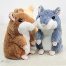 2016 Talking Mouse Plush Toys Cute Hot-selling Educational Repeat  Speak  Talking Toys for Children Babies Kids New Year Gift