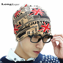 Classic Winter Hats for Women Men Unisex Beanies UK Flag Style Caps Skullies Beanies Warm Knit Hat Elasticity Wholesale Price(China)