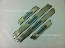With Blue LED light High quality stainless steel Scuff Plate/Door Sill For KIA k5