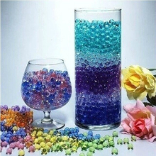Hot Sale 20 Bags Magic Plant Growing Balls Crystal Mud Soil Mix Colors Water Beads Wedding Home Decor(China)