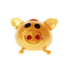 New 1pc Smash-it Stress Relief Jelly Soft Cute Pig Ball Toy Gifts For Children Random Color(China)