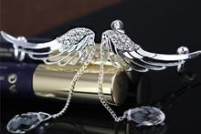 Stud Earrings ear rings Fashion for women Girl's lady angel wing tassel