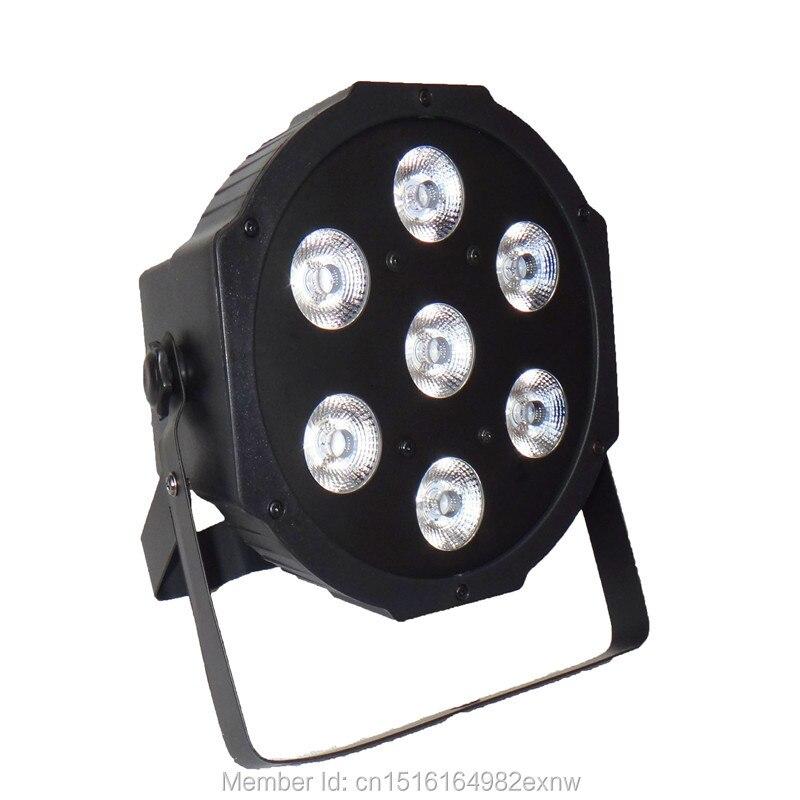 (14pcs) American DJ LED SlimPar 7x12W RGBW 4IN1 LED Stage Wash Lighting for Wedding Concert Parties DJ<br><br>Aliexpress
