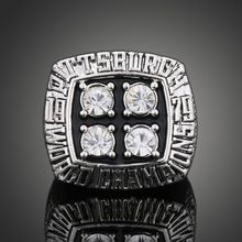 1979 American Football Game Super Bowl XIV Pittsburgh Steelers Championship Ring Men Jewelry Sports Ring fans Collection
