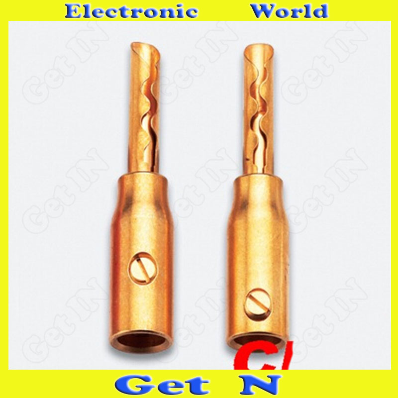2pcs-20pcs CMC Banana Plug Jack Pure Copper Gold Plated Banana Connectors 0685-GF Banana Socket<br><br>Aliexpress