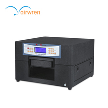 2017 High quality uv printer price UV flat bed printer for metal