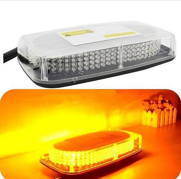 01018 Free delivery, high power LED lamp 12V 240LED magnetic Mini LED flash warning lamp. Emergency light  Easy to use car LED <br><br>Aliexpress