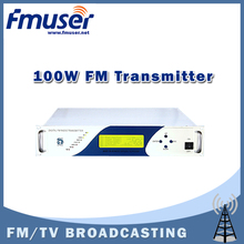 Free shipping CZH618F-100C 100W 2U FM stereo radio transmitter exciter power adjustable from 0 to 100w