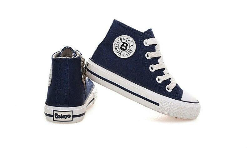 Enfants chaussures pour fille enfants toile chaussures garçons 45