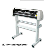 Hot sales New Arrival Digital Vinyl Sticker JK870 Cutting Plotter for JK870 engraving machine cutting machine with high quality