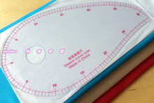 vary form curve rule/comma-shaped curve ruler/Sleeve curve ruler for patchwork /Making clothes 1 order=1 pc(China)
