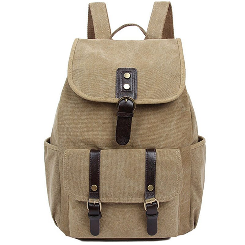 5 Colors Drawstring Bag Vintage Backpack Woman Travel Bag Canvas  School Bag for Teenager Mochila Feminina Bagpack Promotion<br><br>Aliexpress
