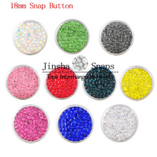 Trendy Polymer Clay Snap Buttons Fit 18mm Snaps Bracelet  DIY Jewelry Accessories Round Designs For Women Gift JS1813