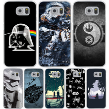 Star Wars Hard Transparent Cover Case for Galaxy S7 Edge S6 S8 Edge Plus S5 S4 S3 & Mini S2