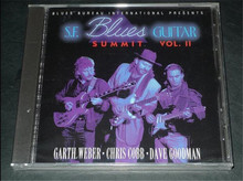 Free Shipping: S.F. Blues Guitar Summit, Vol. 2 Rock Music CD Seal
