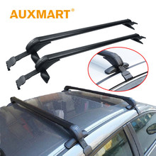 Auxmart Universal Car Roof Rack Cross Bar 90~120cm with Anti-theft Lock Auto Roof boxes Racks Bike Load Cargo Carrier Luggage(China)