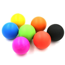 Silicone Ball Lacrosse Balls Trigger Point Massage and Myofascial Release - Good For Stress Therapy , Crossfit Fitness(China)