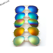 Luxury Aviator Sunglasses Women Men Brand Designer Sun Glasses Women Female Male Ladies Sunglass Vintage Mirror Sunglass UV400