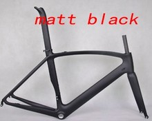 carbon road bicycle aero race bike dengfubike fm098 matt black di2 routing compatible 700c road carbon frames for hot selling(China)