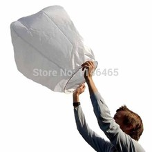 700pcs  2016 White Paper Chinese Sky Lanterns Wishing Lamp Balloon for Birthday Wedding Party DHL free shiping usa