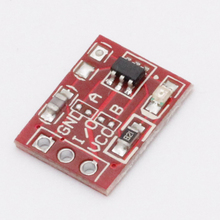 20Pcs TTP223 Touch Key Switch Module Touching Button Self-Locking/No-Locking Capacitive Switches Single Channel Reconstruction
