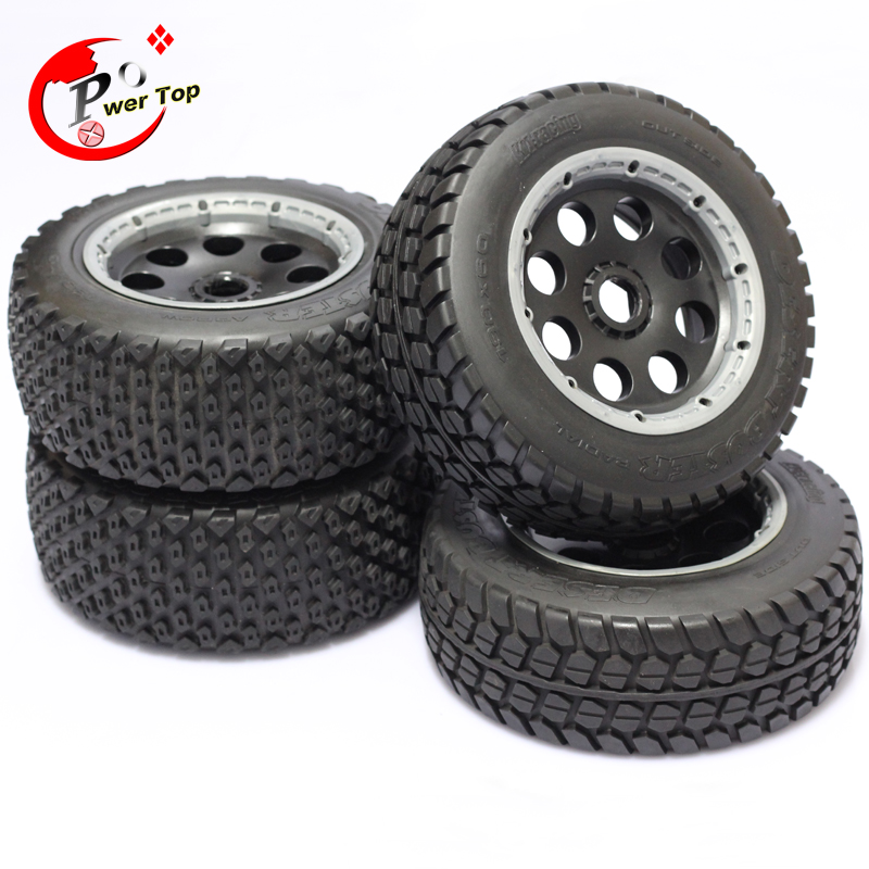 King Motor Baja T1000 Buster wheel tire tyre set for HPI BAJA 5T Parts Rovan Free Shipping<br><br>Aliexpress