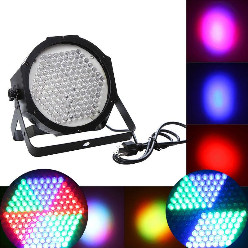 Professional 127 RGB LED Effect Light DMX512 7CH Par Lights DMX-512 Disco DJ Party Show Stage Lighting US EU PLUG<br><br>Aliexpress