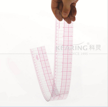 60cm /24'' H-quality clothing proofing chiban cutting ruler sleeve chiban grading feet ruler Designer Engineering drawing DM008(China)