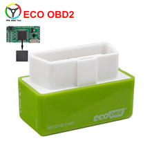 Newly Eco OBD2 Chip Tuning Box Eco OBD Plug And Drive Lower Fuel And Lower Emission ECOOBD2 Chip Tuning For Benzine Cars(China)