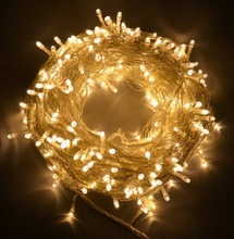 50m 400LED 220V EU Plug Christmas Decorative Lights New Year Wedding Xmas Fairy Holiday Party Waterproof LED String xx - Shenzhen qi xinyuan photoelectric co., LTD store