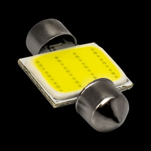 1pcs 31mm C5W C10W C3W DE3021 DE3175 Festoon COB led Car Licence Plate Light Auto housing Interior Dome lamps  12V