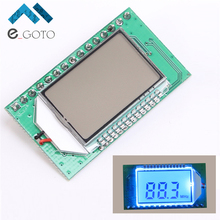 FM Transmitter Module Computer Audio Transmitter Board PLL Digital LCD Wireless Microphone Stereo UART 87-108MHZ PC