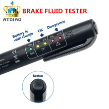 2018 novo Testador De Fluido de Freio universal 5 LED Mini Electronic Brake Fluid Líquido Pen Tester para Auto Car Vehicle Diagnostic ferramentas(China)