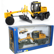 KAIDIWEI 1:35 Scale Motor Grader Model Diecast Metal Construction Vehicles Truck Toys For Kids Boys
