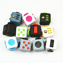Fidget Cube Toys for Puzzles & Mini Fidget Cube Magic Gift AntiStress StressKeychain Squeeze Fun Stress Reliever 11 Colours