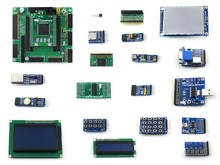 OpenEP2C5-C Package B # EP2C5 EP2C5T144C8N ALTERA FPGA Cyclone II Development Board + 19 Accessory Modules Kits(China)