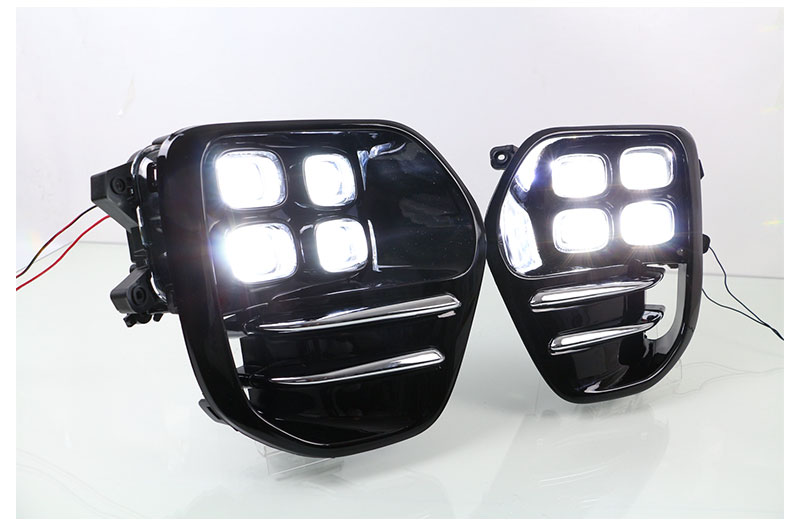 LED Daytime Running Lights DRL For KIA Sportage QL KX5 2016 2017 Car Driving Light Fog Lamp Hole Car-styling Auto Accessories (10)