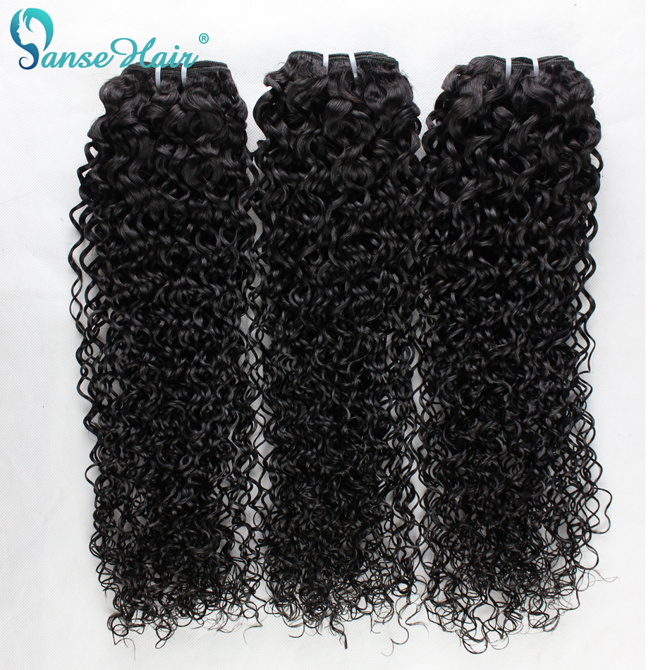 Beauty High Quality Wet And Wavy Virgin Brazilian Hair Bouncy Kinky Curly 3pcs 100g/pc Deep Curly Brazilian Hair Bundle Deals<br><br>Aliexpress