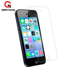 GerTong 2.5D 9H Tempered Glass For iPhone 5S 5 SE 5C X 8 7 6 6S Plus 4 4S Screen Protector For iPhone X 8 7 6 6S Protective Film(China)